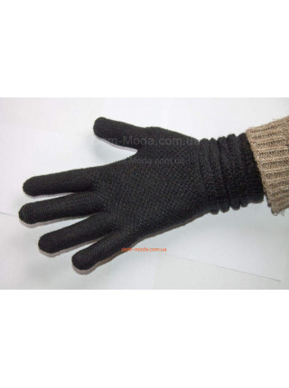 Жіночі в'язані рукавички