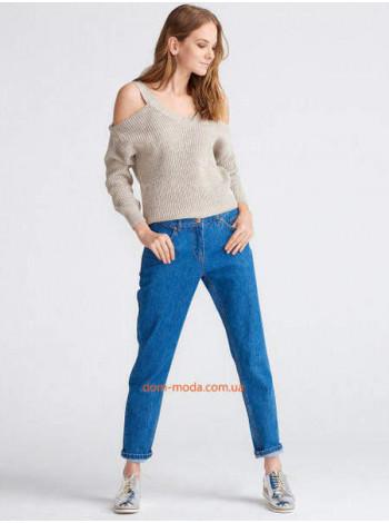 """Жіночі бойфренди джинси """"Сині"""""""