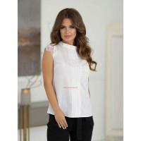 Женская белая рубашка для лета