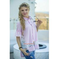Жіноча модна блузка вільного фасону