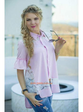 Женская модная блузка свободного фасона