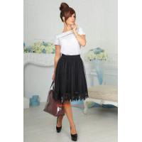Нарядная юбка с фатином