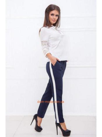 Ділові брюки з лампасами