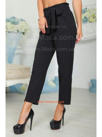 Укорочені брюки з високою талією