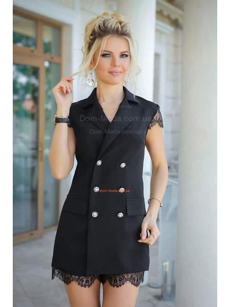 """Жіночий літній комбінезон з шортами """"Піджак"""""""