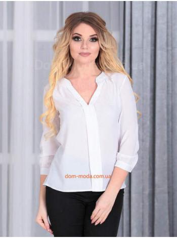 """Стильная женская блуза с длинным рукавом """"Лекса"""""""