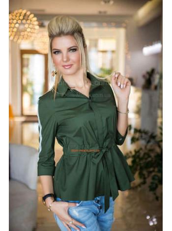Женская рубашка с лампасами