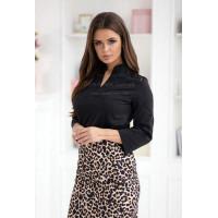 Модна жіноча блузка з рукавом три чверті