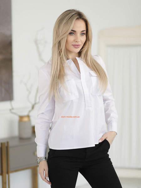 Рубашка без пуговиц женская