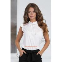 Женская летняя блузка безрукавка