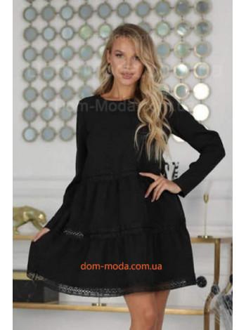 """Модне коротке плаття з мереживом """"Дінара"""""""