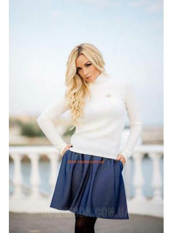 Теплый женский гольф ангора