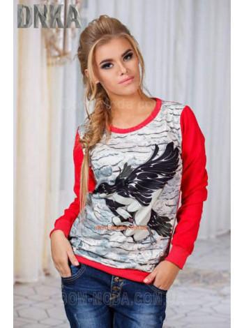 Женский модный свитшот птица