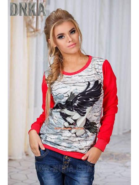 5dc07205803de3 Світшоти жіночі модні в магазині Dom-Moda.com.ua | Купити світшоти ...