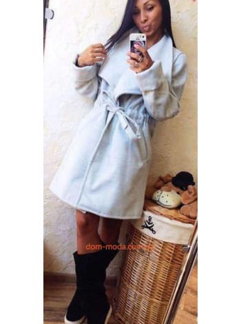 """Модне жіноче пальто """"Димчастий"""""""