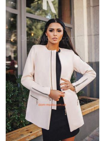 """Женское короткое пальто с длинным рукавом """"Пити"""""""