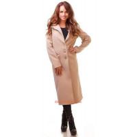 """Женское длинное классическое пальто из кашемира """"Клисс"""" норма и батал"""