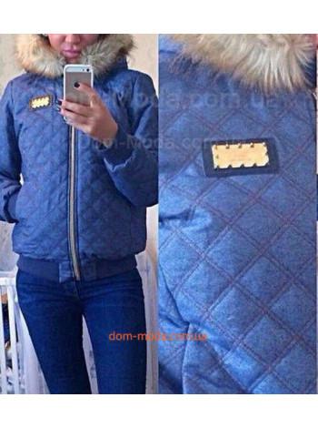 "Зимняя женская куртка ""Philipp Plein"""