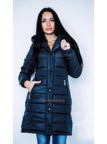 "Тепле модне пальто на синтепоні ""Монклер"""