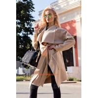 """Стильне пальто для жінок з заниженою проймою """"Японка"""""""