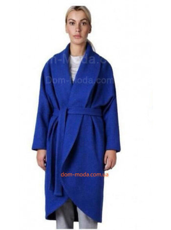 """Женское модное пальто с поясом """"Кимоно"""""""