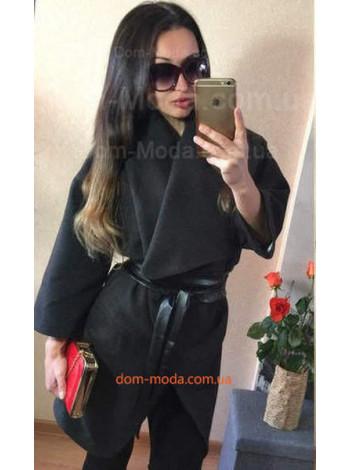 """Стильное женское пальто с поясом """"Роскошь"""""""