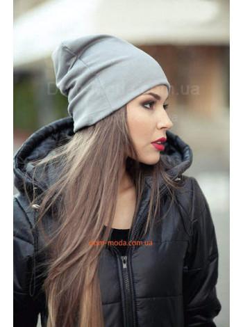 Жіноча молодіжна шапка трикотажна