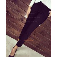 Стильные укороченные брюки женские